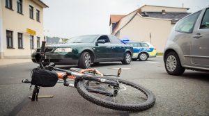 Abogado reclamar accidente bicicleta