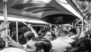 Reclamación transporte público