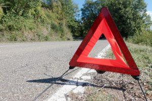 Triangulo accidente de trafico